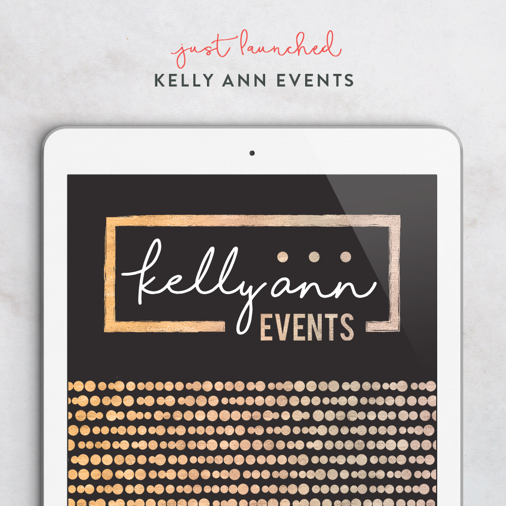 Coming Soon - Kelly Ann Events