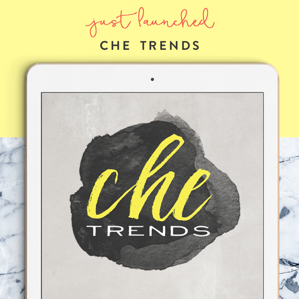 Chic new logo and brand identity for Che Trends - fashion brand