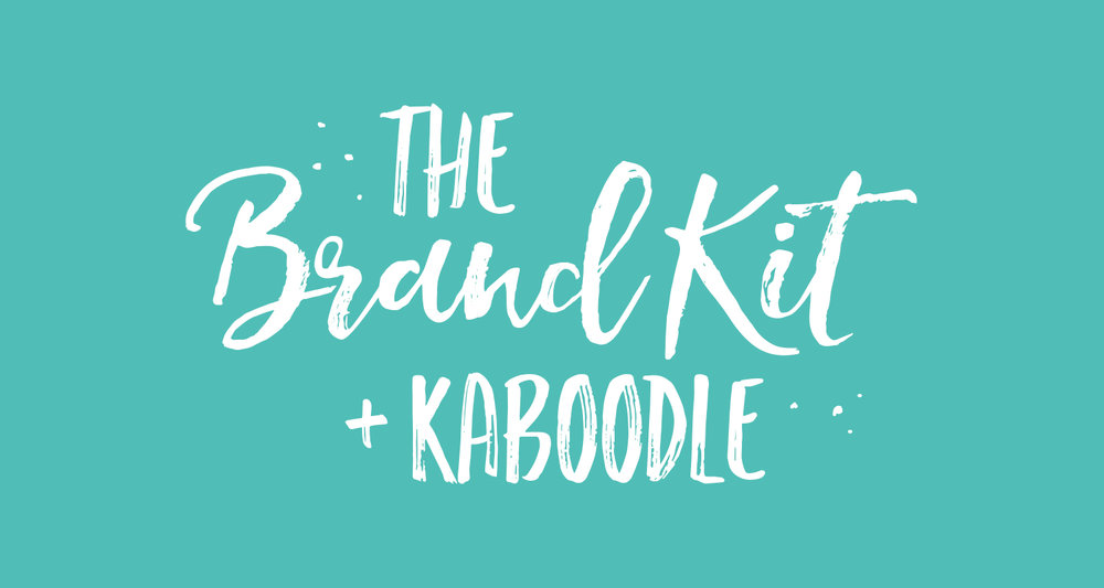 Logo and Brand Identity Package - The Brand Kit and Kaboodle