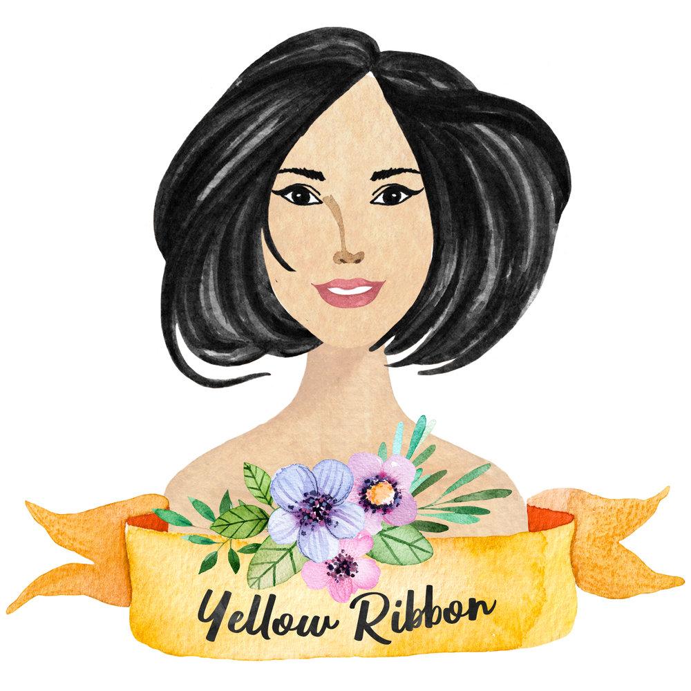 Ribbon Yellow Floral.jpg