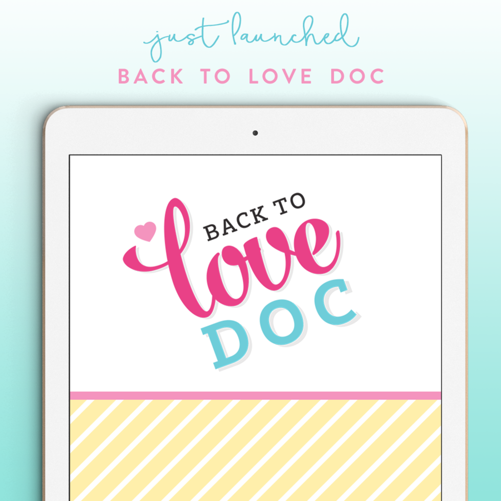 Coming soon - Back to Love Doc
