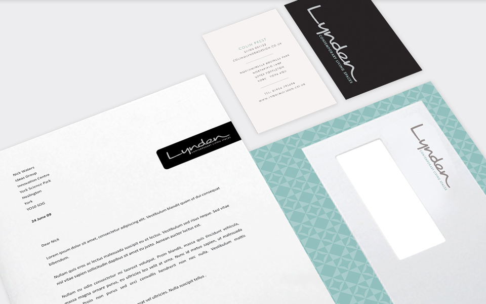 Visual identity for one of the north\'s leading kitchen and bedroom ...