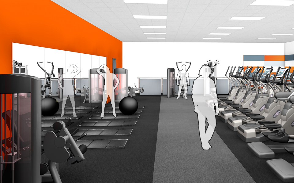 1st Floor Fitness Suite Visual A