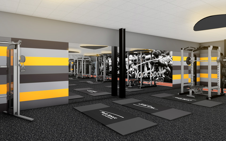Fitness Gyms Design Images Galleries