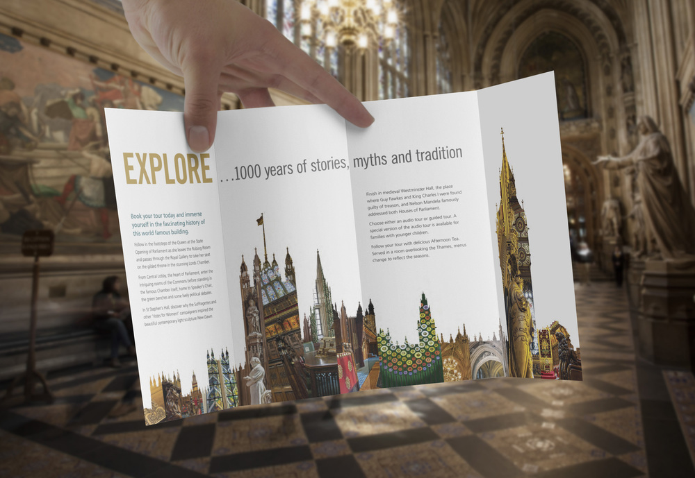 Visit Parliament main promotional leaflet