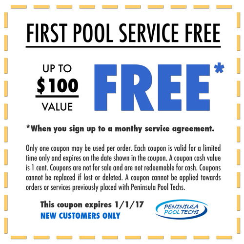 Special Offers By Peninsula Pool Techs Only Available Here Free