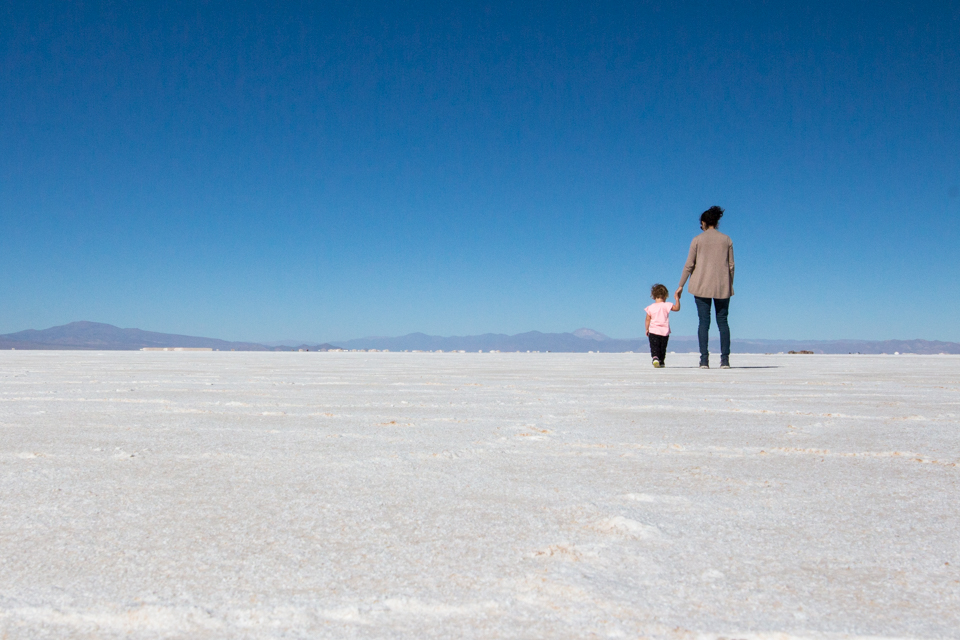 Salt at Salinas Grandes