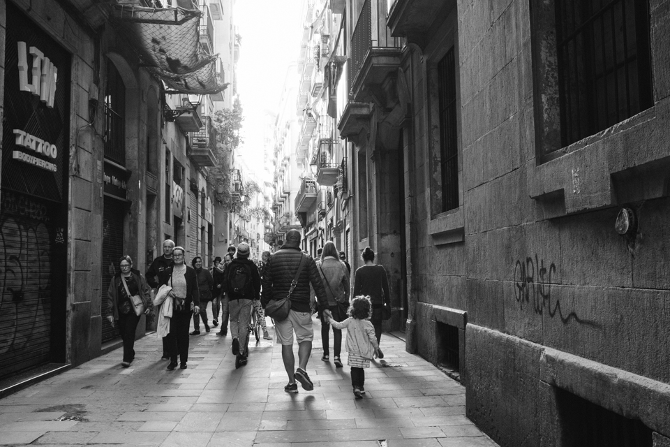 Those Barcelona streets
