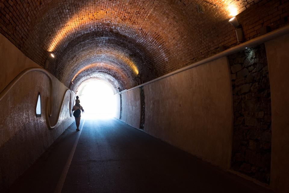 Cinque Terre from underground  |  Monterosso