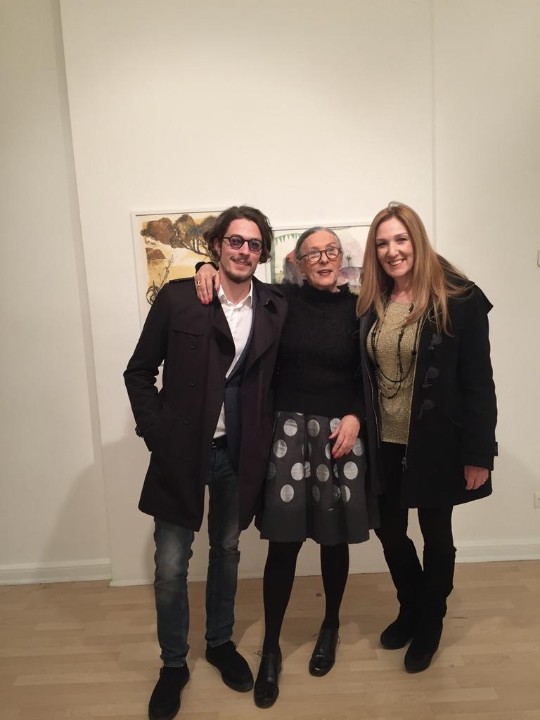 Opening Day: Harris Orphanidis, Lola Nikolaou, Lena Pappia.