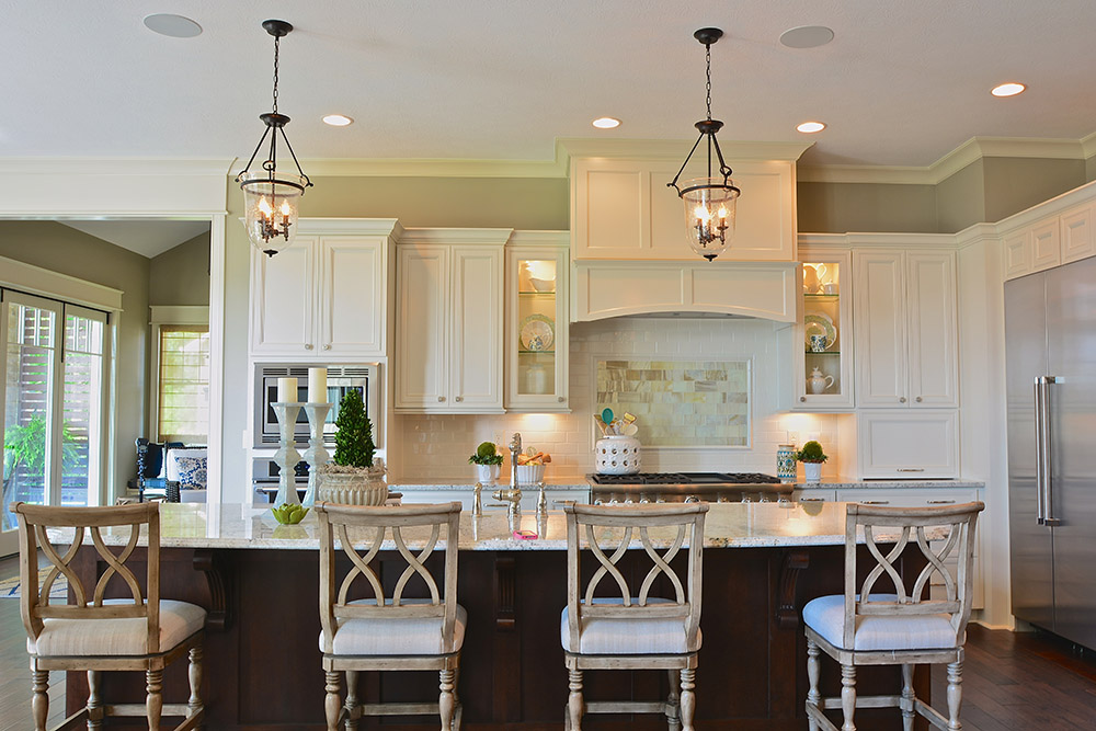 Gallery home a rama 2014 old town design group Custom kitchens pictures