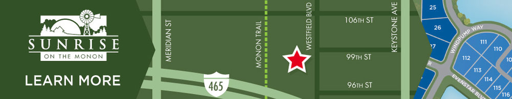 Sunrise on the Monon Map