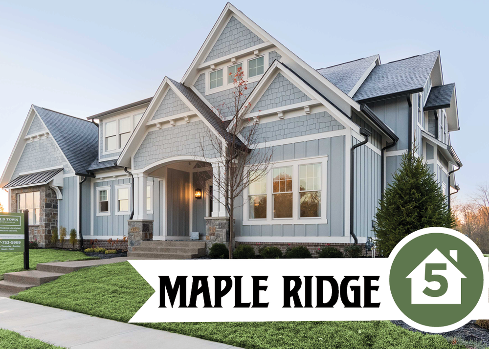 Fully Furnished Model15275 Maple Ridge DriveFive bedroom model home in our newest custom community, Maple Ridge. -