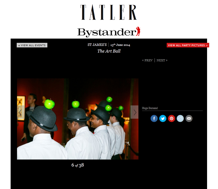 Art Ball Waitors
