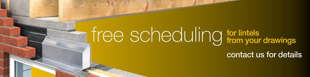 Lintel schedule