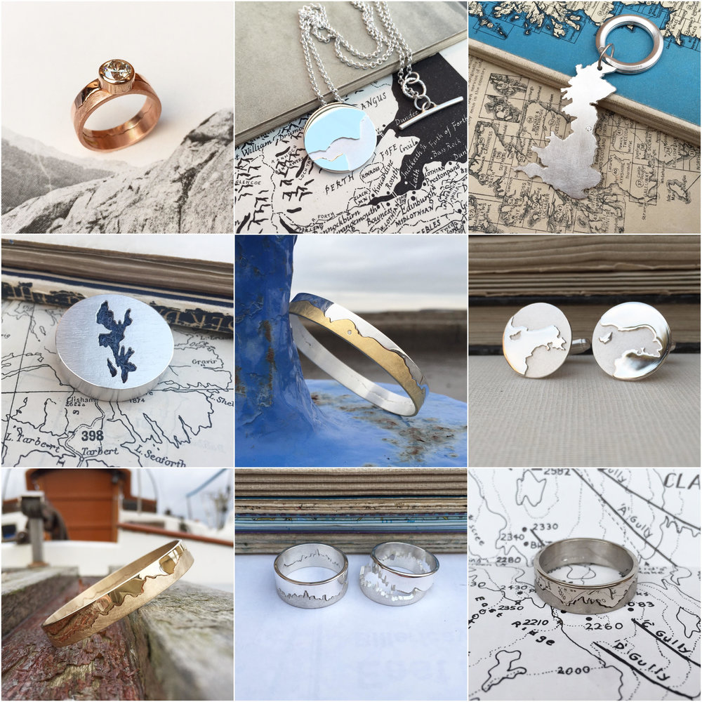 Hannah Louise Lamb Coastline Collection - bespoke commissions for Christmas 2016