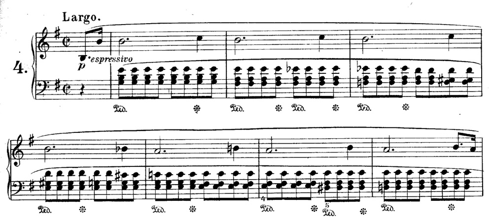 CHOPIN — Prélude no. 4 in E minor from  Préludes , op. 28