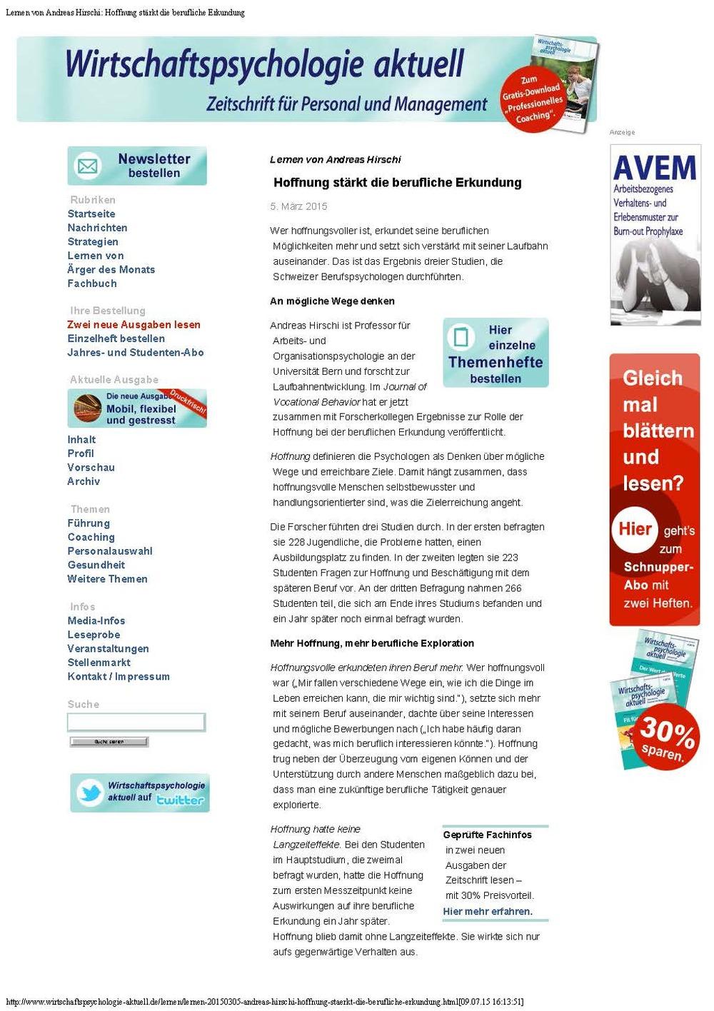 WPaktuell-Lernen von Andreas Hirschi- Hoffnung stärkt die berufliche Erkundung_Seite_1.jpg