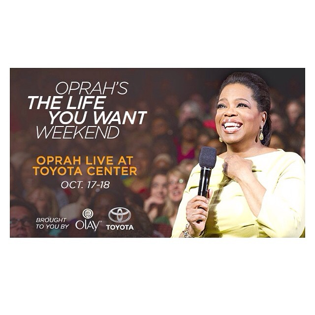 2014, Media for the Oprah's Life You Want Tour