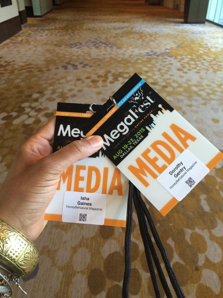 Media/Photographer for MegaFest Dallas!
