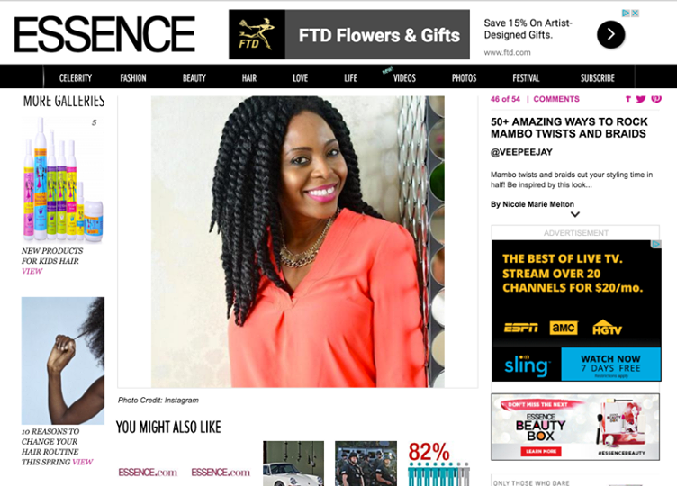 Image on Essence.com featuring VeePeeJay!