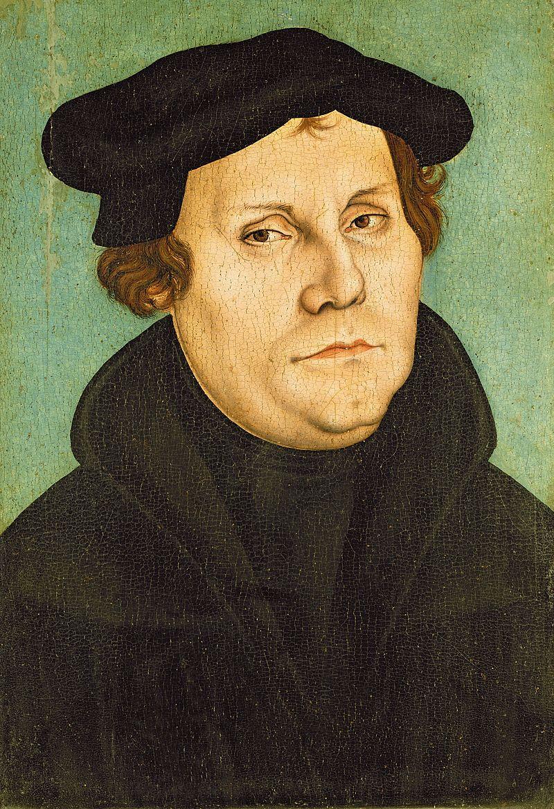 Martin Luther, November 10, 1483 -February 18, 1546.
