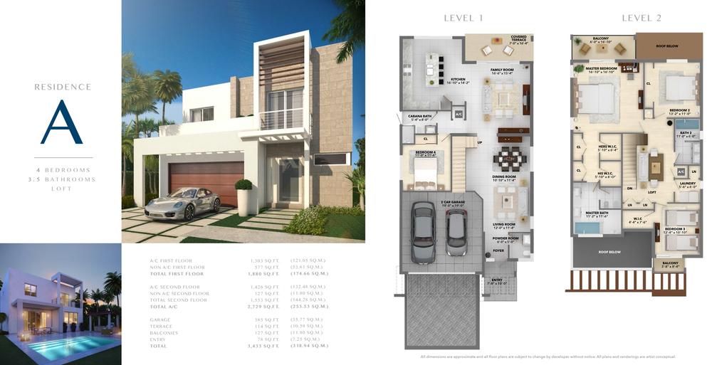 Neovita Doral Residence A Floor Plan
