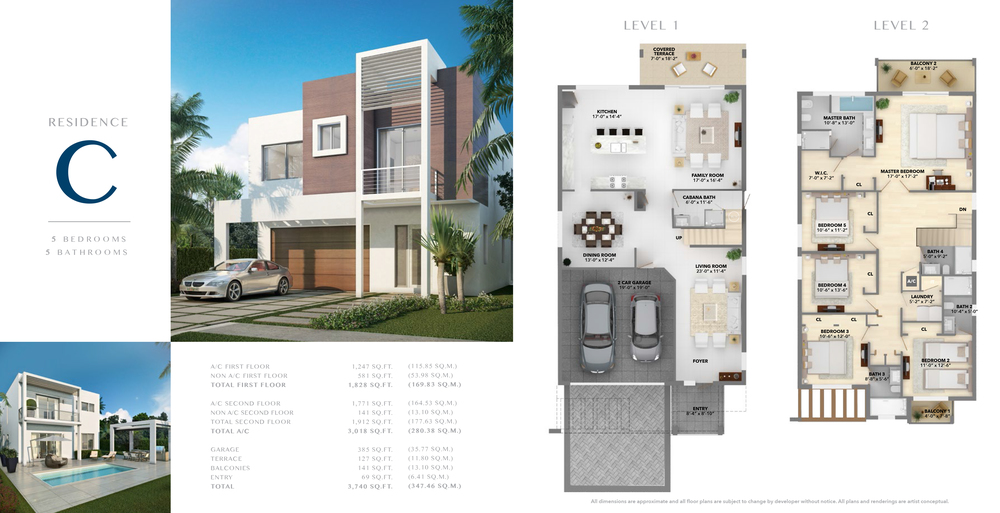 Neovita Doral Residence C Floor Plan
