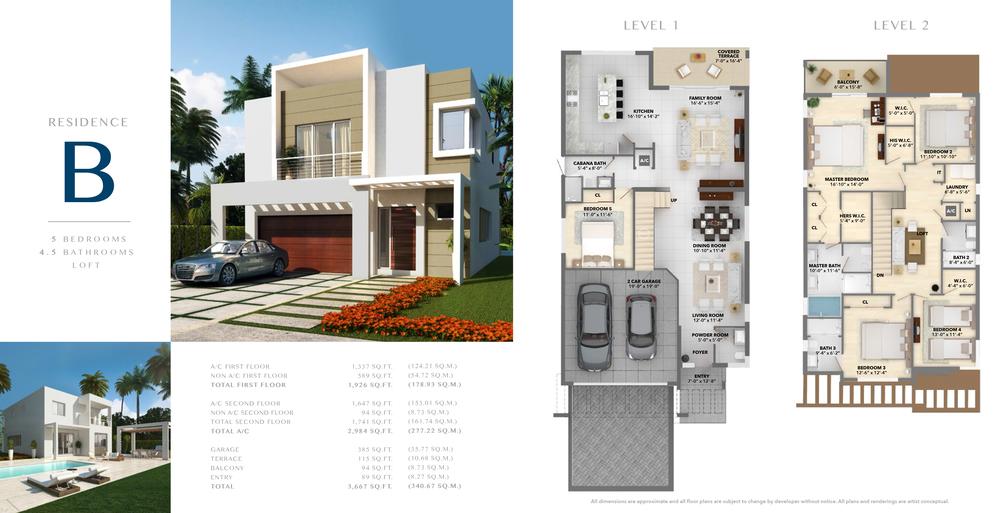 Neovita Doral Residence B Floor Plan