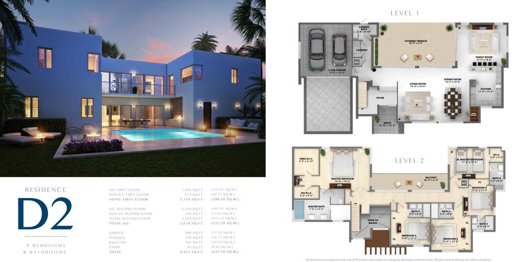 Neovita Doral Residence D2 Floor Plan
