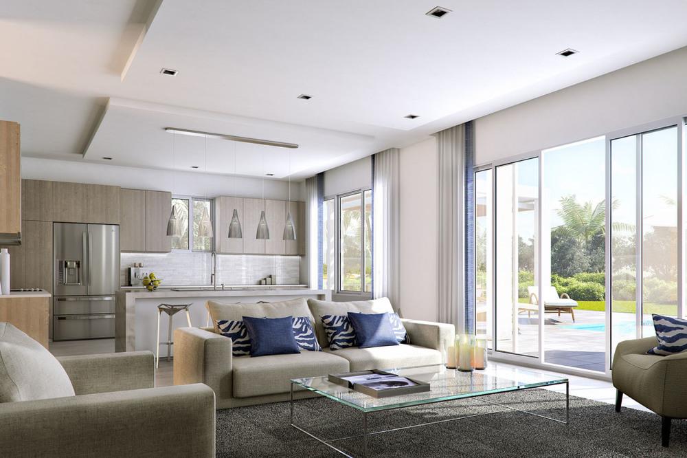 Neovita Doral Living Room To Kitchen