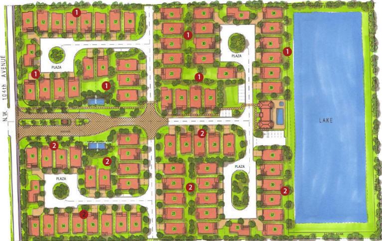 Neovita Doral Residences Site Plan