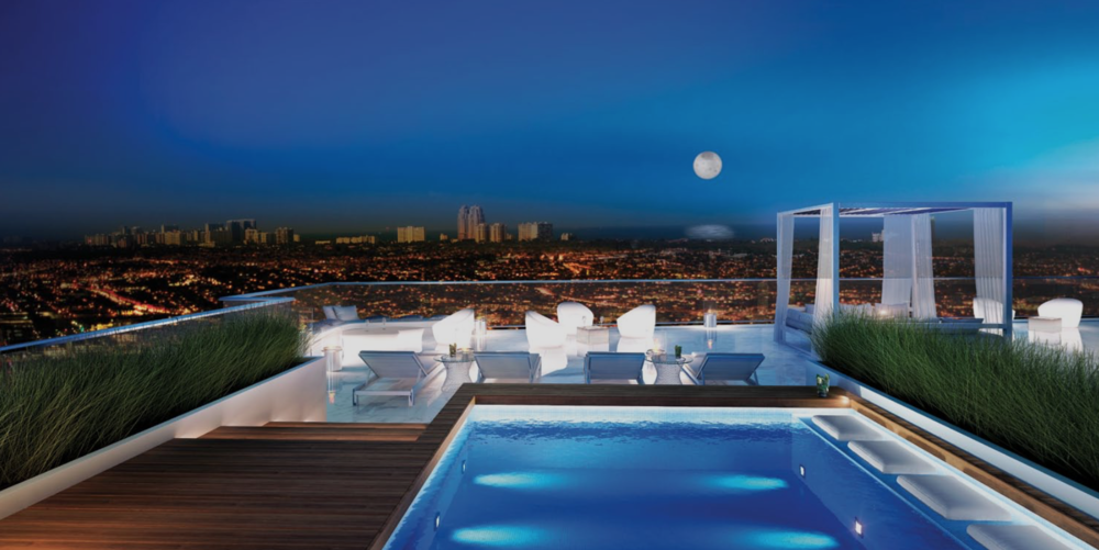 Riva Ft.Lauderdale Penthouse Terrace Pool