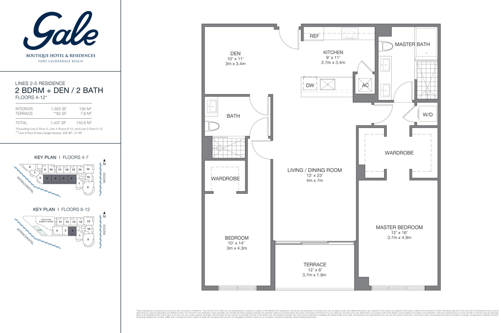 Gale Ft.Lauderdale Floor Plan Lines 2-5