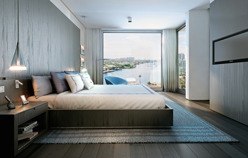 Gale Residences Ft.Lauderdale Bedroom