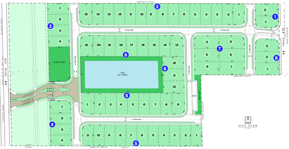 The Mansions At Doral Site Plan