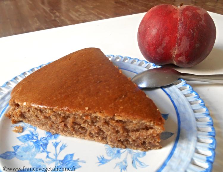 moelleux à la crème de marron (végétalien, vegan) — france