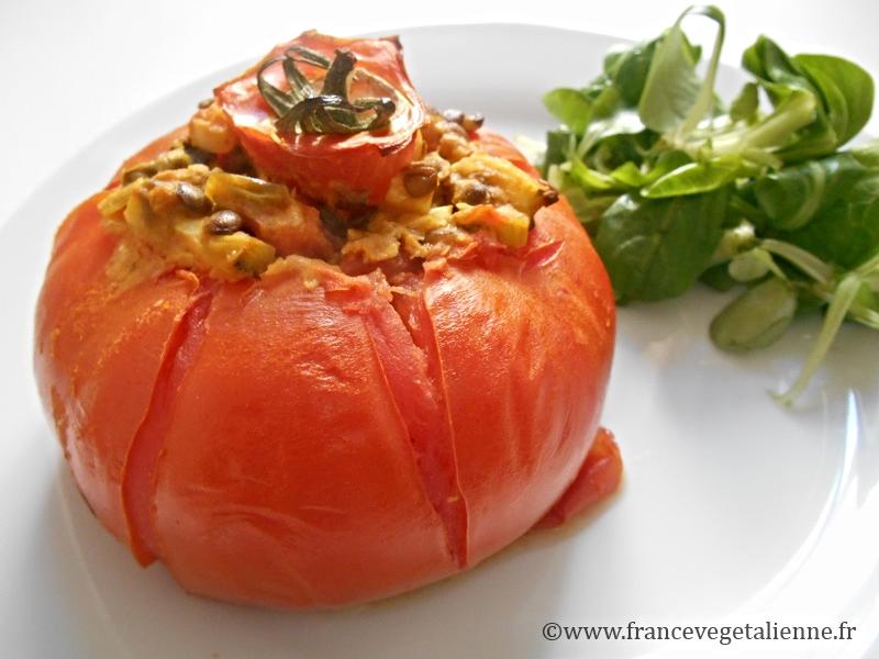 Tomate farcie (vegan)