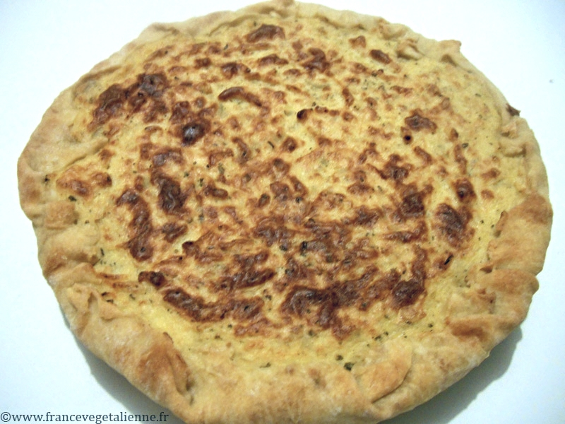 Pétatou (tarte à la purée de pomme de terre) (végétalien, vegan ...