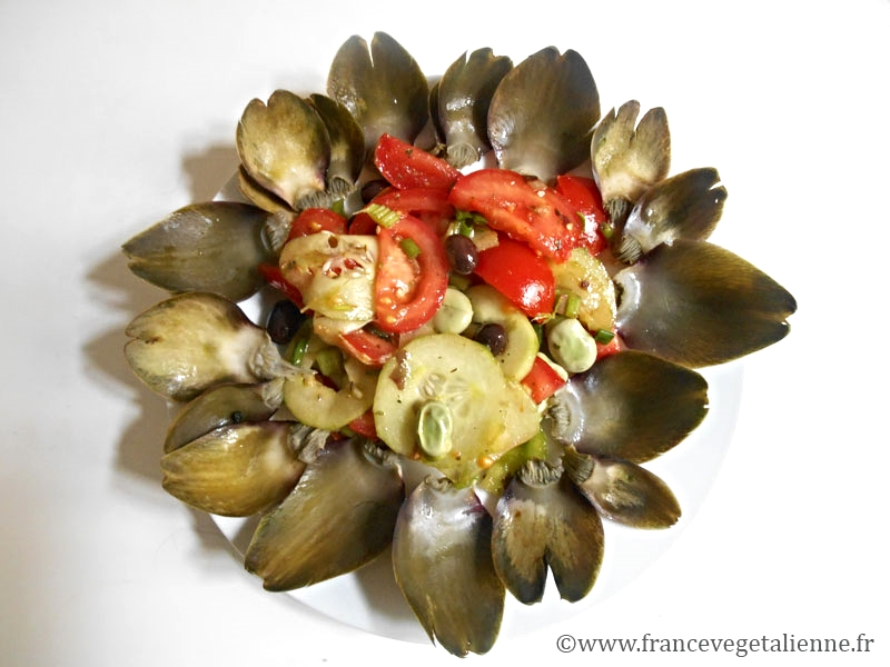 Salade niçoise (vegan)