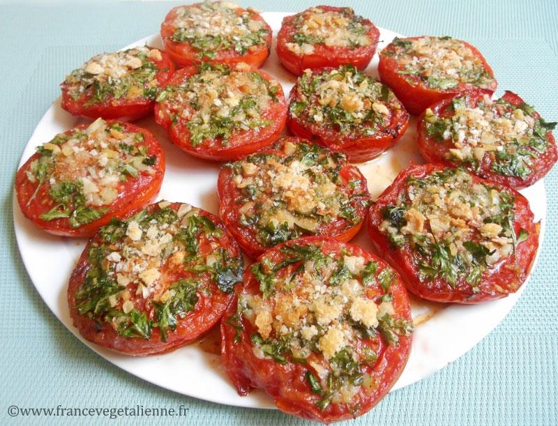 Tomates à la provençale (vegan)