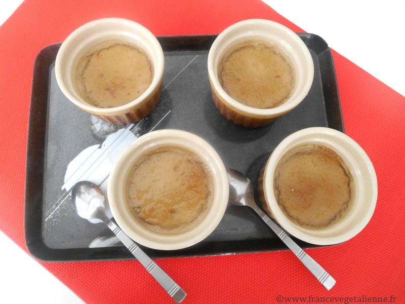 Crème catalane végétalienne