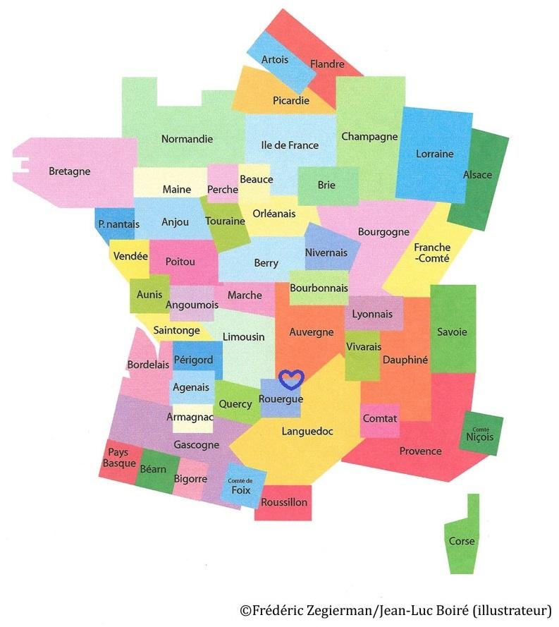 Spécialité d'Auvergne et du Rouergue