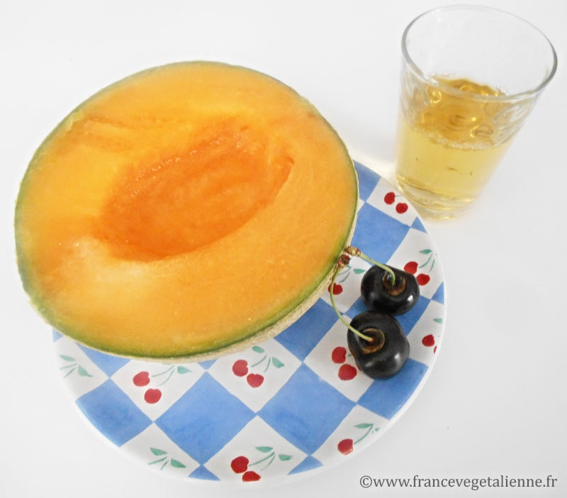 Melon au pineau