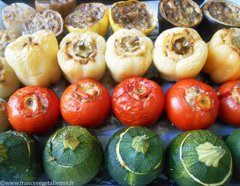 Petits farcis végétaliens