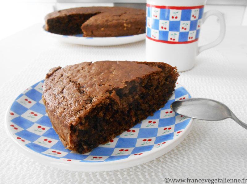 Gâteau au chocolat de Metz (vegan)