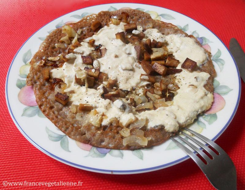 Biguénée (crêpe au sarrasin) (végétalien)