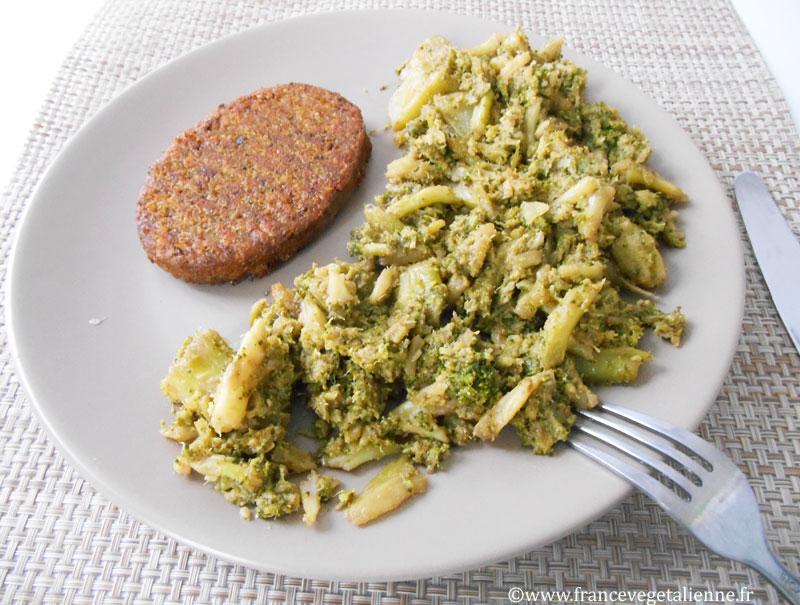 Brocolis à la sauce soja (vegan)