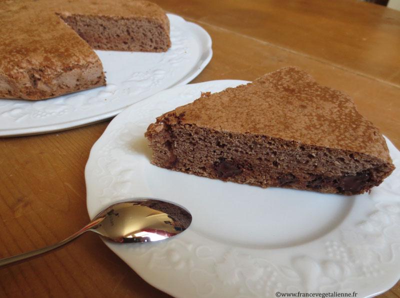 Gâteau minute tout choco (vegan)