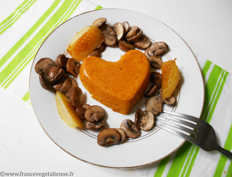 Flan de courge (vegan)